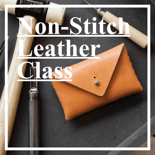 Non-Stitch Leather 1day Class