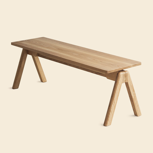 Caret Oak Bench / 벤치