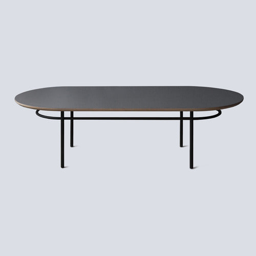 Track Sofa Table / Dark Gray