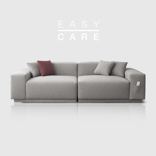 [PRE-ORDER] M5 Fabric Sofa_Easy Care Warm Gray / 3 seated
