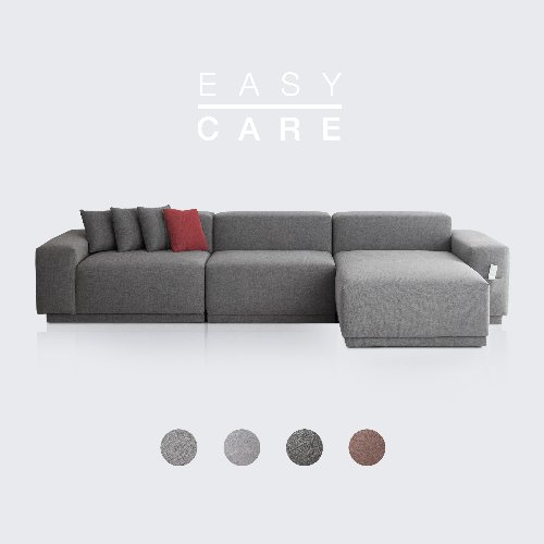 [PRE-ORDER] M5 Fabric Sofa Couch EASY-CARE / 5 seated