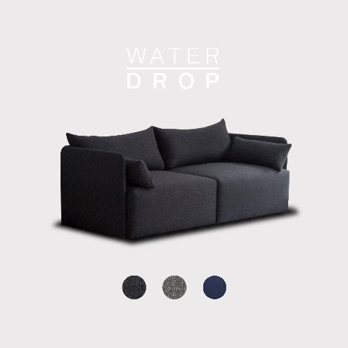 [PRE-ORDER] Fond Sofa 3 seated / WATER-DROP 3 Color