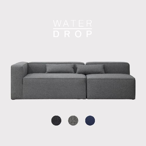[PRE-ORDER] Timeless Sofa A+B Module / WATER-DROP