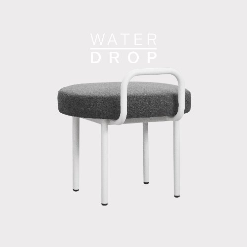 Bold Chair_WATER DROP Shadow Gray