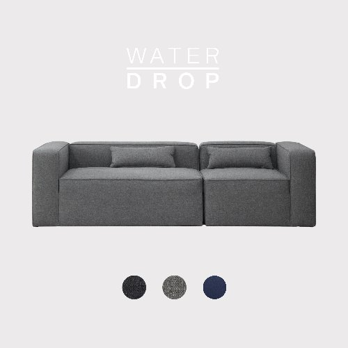 [PRE-ORDER] Timeless Sofa A+D Module / WATER-DROP