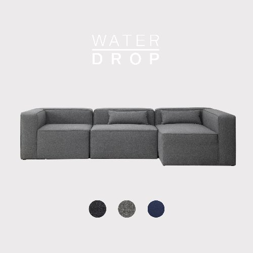 [PRE-ORDER] Timeless Sofa A+B+D Module / WATER-DROP