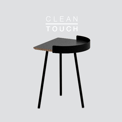 Half Track Table / CLEAN-TOUCH Dark Gray