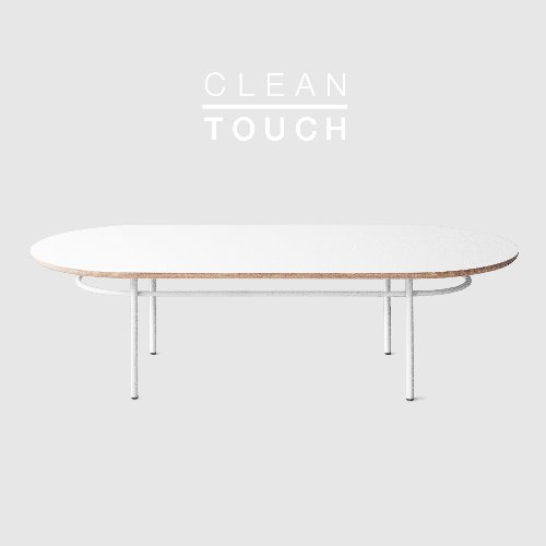 [PRE-ORDER] Track Sofa Table / CLEAN-TOUCH White