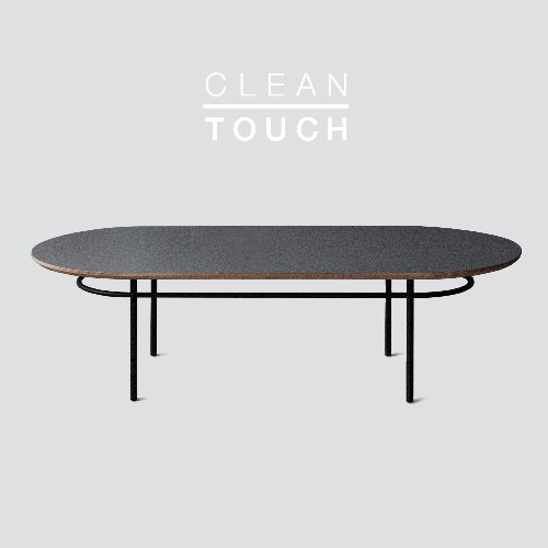 [PRE-ORDER] Track Sofa Table / CLEAN-TOUCH Dark Gray