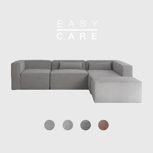 [SLOW PAY] Timeless Sofa ABCD / EASY-CARE 4 Colors