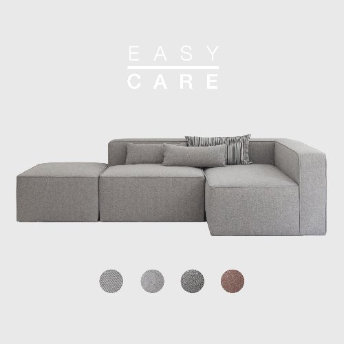 [SLOW PAY] Timeless Sofa ABC / EASY-CARE 4 Colors