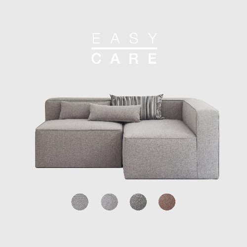[SLOW PAY] Timeless Sofa AB / EASY-CARE 4 Colors