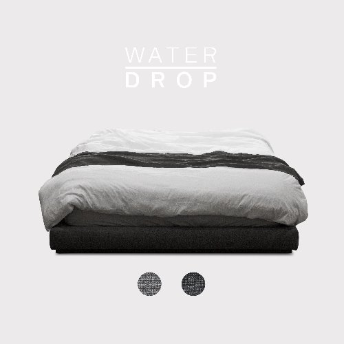 M5 Fabric Bed(No Head) / WATER-DROP