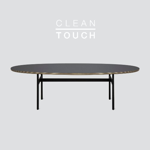 [PRE-ORDER] Less Sofa Table / CLEAN-TOUCH Dark Gray