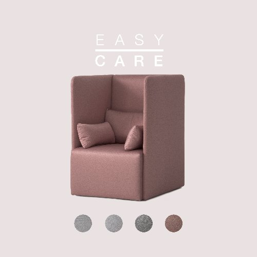 Fond Sofa High / EASY-CARE
