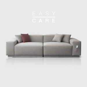 M5 Fabric Sofa_Easy Care Warm Gray / 3 seated