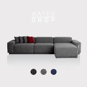 M5 Fabric Sofa Couch WATER-DROP / 5 seated