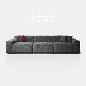 [PRE-ORDER] M5 Fabric Sofa_CARE-PLUS Cloudy Gray / 5 seated
